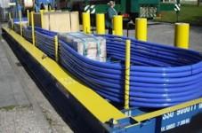 Kabler for beskyttelse mot galvaniske strømninger